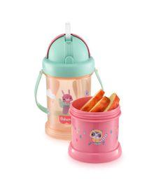 Copo-com-Porta-Snack-Playfyl---Rosa---Fisher-Price---Multikids-0