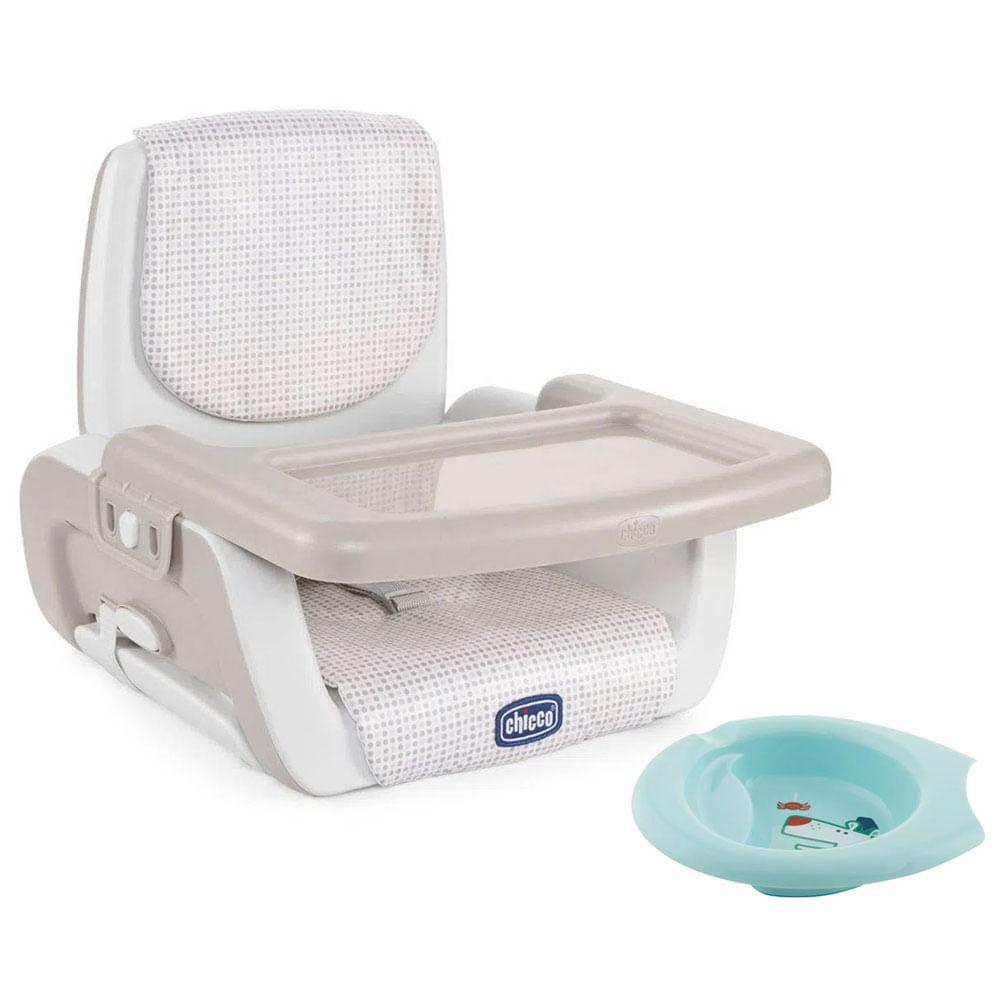 Kit de Assento de Elevatório - Mode - Pois e Bowl de Alimentação Azul - Chicco