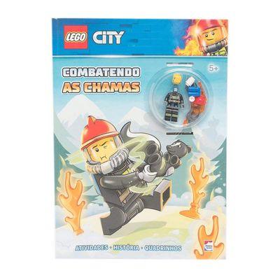 Livro-Infantil---Lego-City---Combatendo-as-Chamas---Happy-Books_Frente