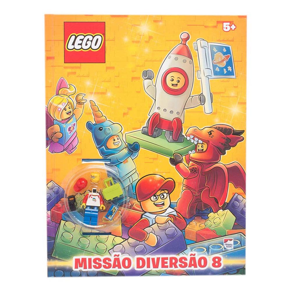 Livro Infantil - Lego - Missão Diversão 8 - Happy Books