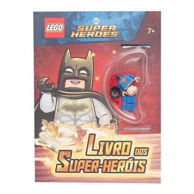 Livro-Infantil---Lego-DC-Super-Herois---Livro-dos-Super-Herois---Happy-Books_Frente