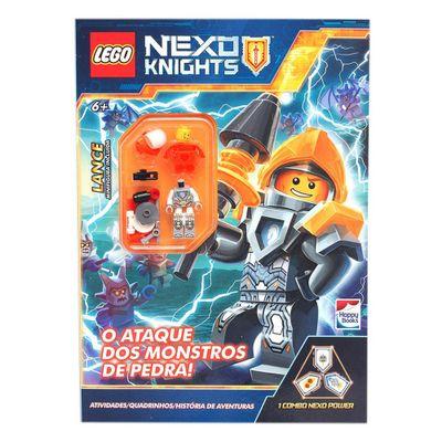 Livro-Infantil---Lego-Nexo-Knight---O-Ataque-dos-Monstros-de-Pedra---Happy-Books_Frente