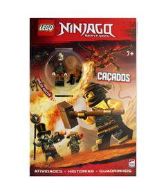 Livro-Infantil---Lego-Ninjago---Master-of-Spinjitzu---Cacados---Happy-Books_Frente