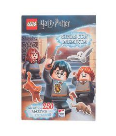 Livro-Infantil---Lego-Harry-Potter---Cenas-com-Adesivos---Happy-Books_Frente
