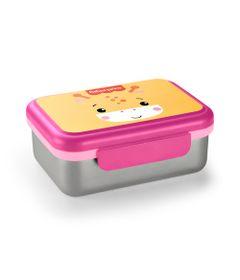 Bento-Box-Aco-Inox---Rosa-Shock---Fisher-Price---Multikids-0