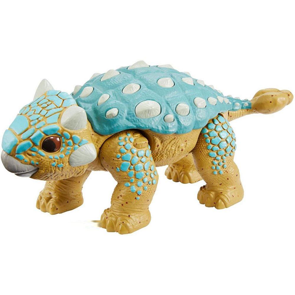 Figura Básica - Jurassic World 2 - Conjunto de Ataque - Ankylosaurus Bumpy - Mattel