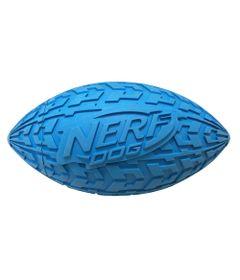Brinquedo-para-Pets---Bolinha-de-Futebol-Americano---15Cm---Azul---NERF-Dogs