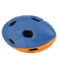Brinquedo-para-Pets---Bolinha-Oval-com-Furos---15Cm---Azul---NERF-Dogs
