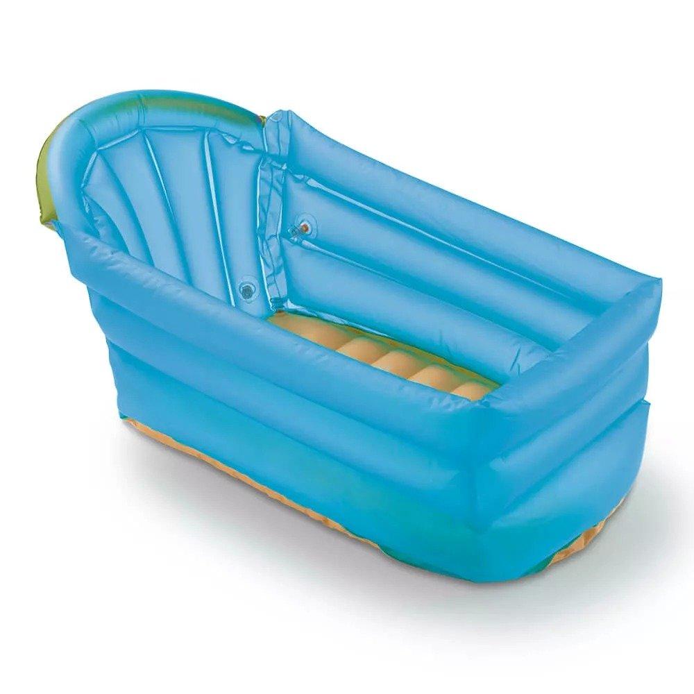 Banheira Inflável Bath Buddy Azul - BB173 - Multikids Baby