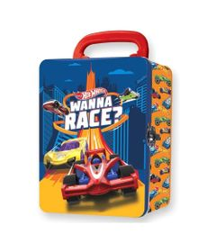 Maleta-Metalica---Hot-Wheels---Box-para-18-Carrinhos---Wanna-Race---Fun_Frente