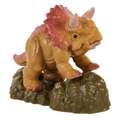 Mini-Figuras---Jurassic-World---Triceratops---Mattel-0