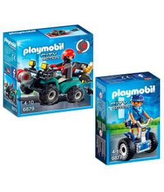 Kit-Playmobil---City-Action---Trailer-da-Policia-e-Mini-Figura-Policial-com-Acessorios---Sunny-1
