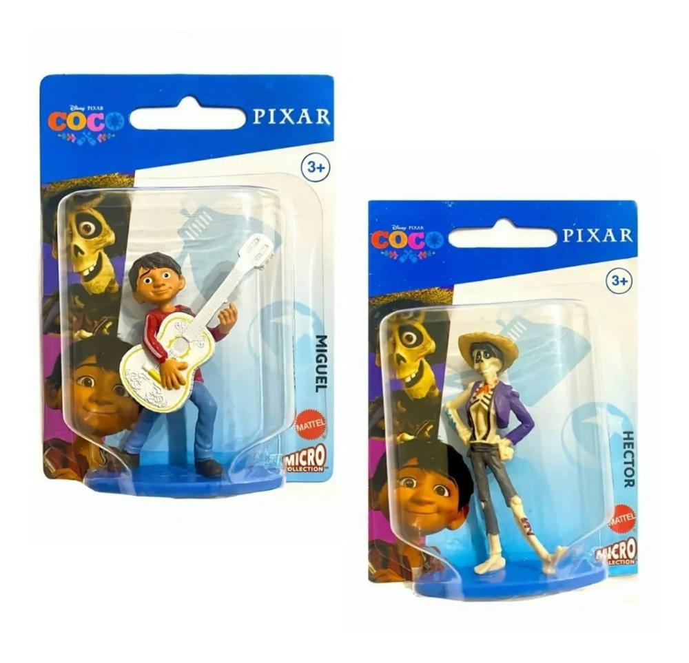 2 Mini Figura Disney  6 Cm Viva - A Vida É Uma Festa Mattel