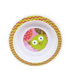 Prato-Raso-com-Ventosas---Funny-Meal---Gatinho--Multikids-Baby_Frente