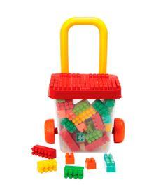 Carrinho-Balde-de-Puxar-com-Blocos---Smoby-Brick---Gulliver_Frente