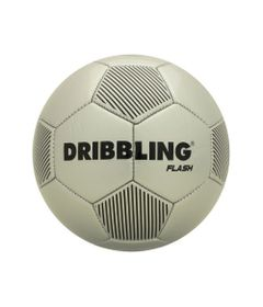 Bola-de-Futebol---Dribbling-Flash---Prata-e-Preto---Tamanho-5---Sportcom_Frente