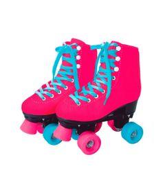 Patins-4-Rodas---37-38---Rosa-e-Azul---Fun-Brinquedos-0