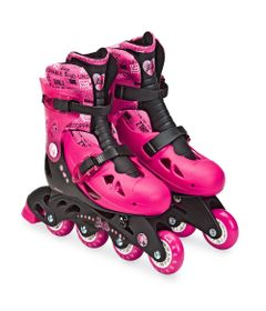 Patins-3-Rodas---37-40---Ajustaveis---Barbie---Fun-Brinquedos-0
