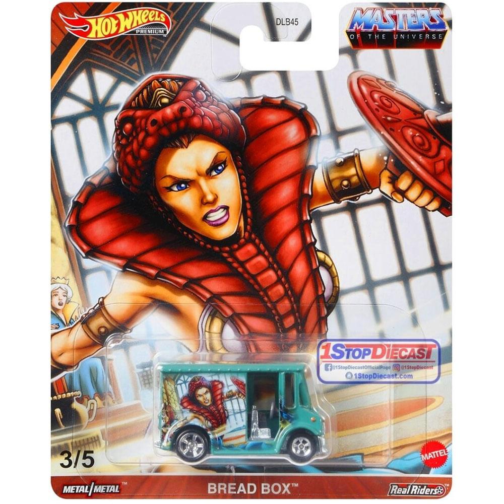 Veículo Hot Wheels - 1:64 - Masters Of The Universe - Bread Box - Mattel