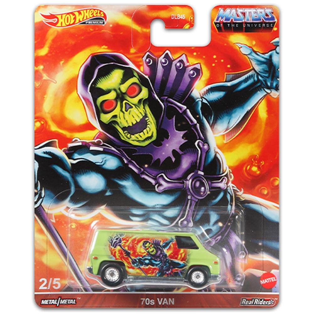 Veículo Hot Wheels - 1:64 - Masters Of The Universe - 70s Van - Mattel