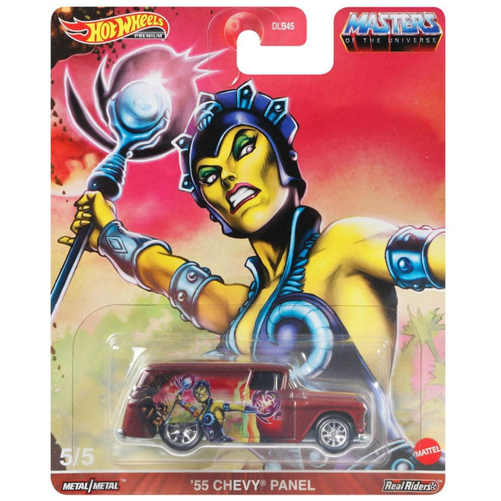 Veículo Hot Wheels - 1:64 - Masters Of The Universe - Chevy Panel 1955 - Mattel