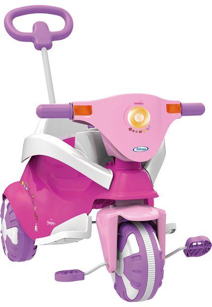 Triciclo Happy Pink 3 x 1 - Xalingo 07245