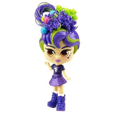 Oferta Mini Boneca - Curli Girls - Charli - Novabrink por R$ 93.99