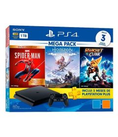 Console---Playstation-4---Slim-Bundle-Hits-V15---Family---1TB---Sony