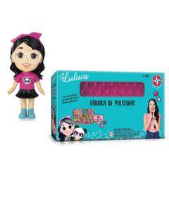 Kit-de-Boneca-de-Vinil---20-Cm---Luluca-e-Fabrica-De-Pulseiras---Luluca---Estrela