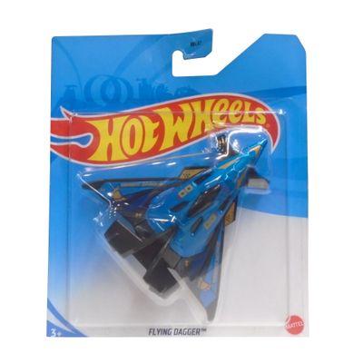 Aviao-Hot-Wheels---Flying-Dagger---Azul---Mattel