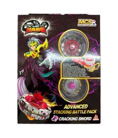 Piao-de-Batalha---Infinity-Nado-V---Advanced-Edition---Cracking-Sword---Candide---Frente