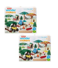 Kit-de-Mini-Figuras-e-Acessorios---Wonder-Makers---Acampamento-de-Aventuras---Fisher-Price