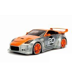 Option---2003-Nissan-350Z---Cinza-e-Laranja---California-Toys