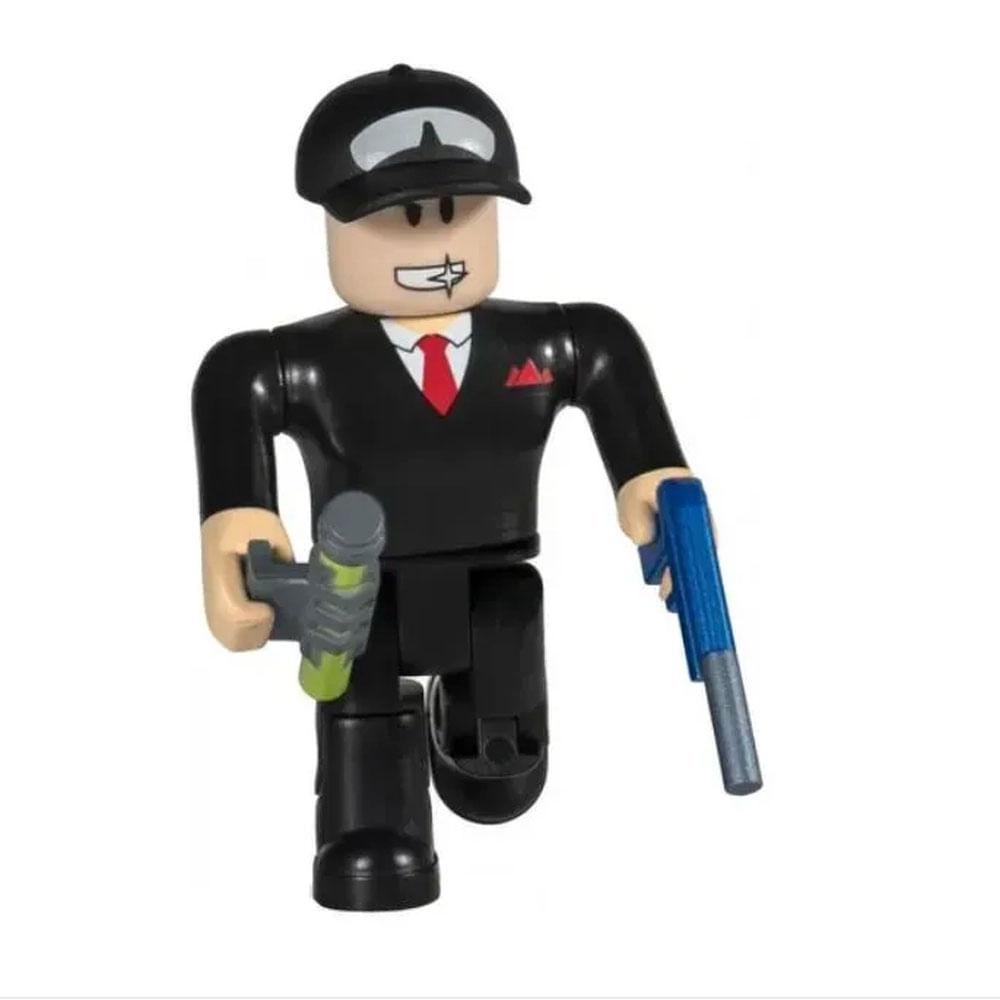 Mini Figura Articulada - 8 Cm - Roblox - Jailbreak com Acessórios - Sunny