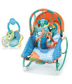 Kit-de-Cadeirinha-de-Balanco-Reclinavel---Elefantes-e-Mordedor---Sea-Friends---Menino---Multikids