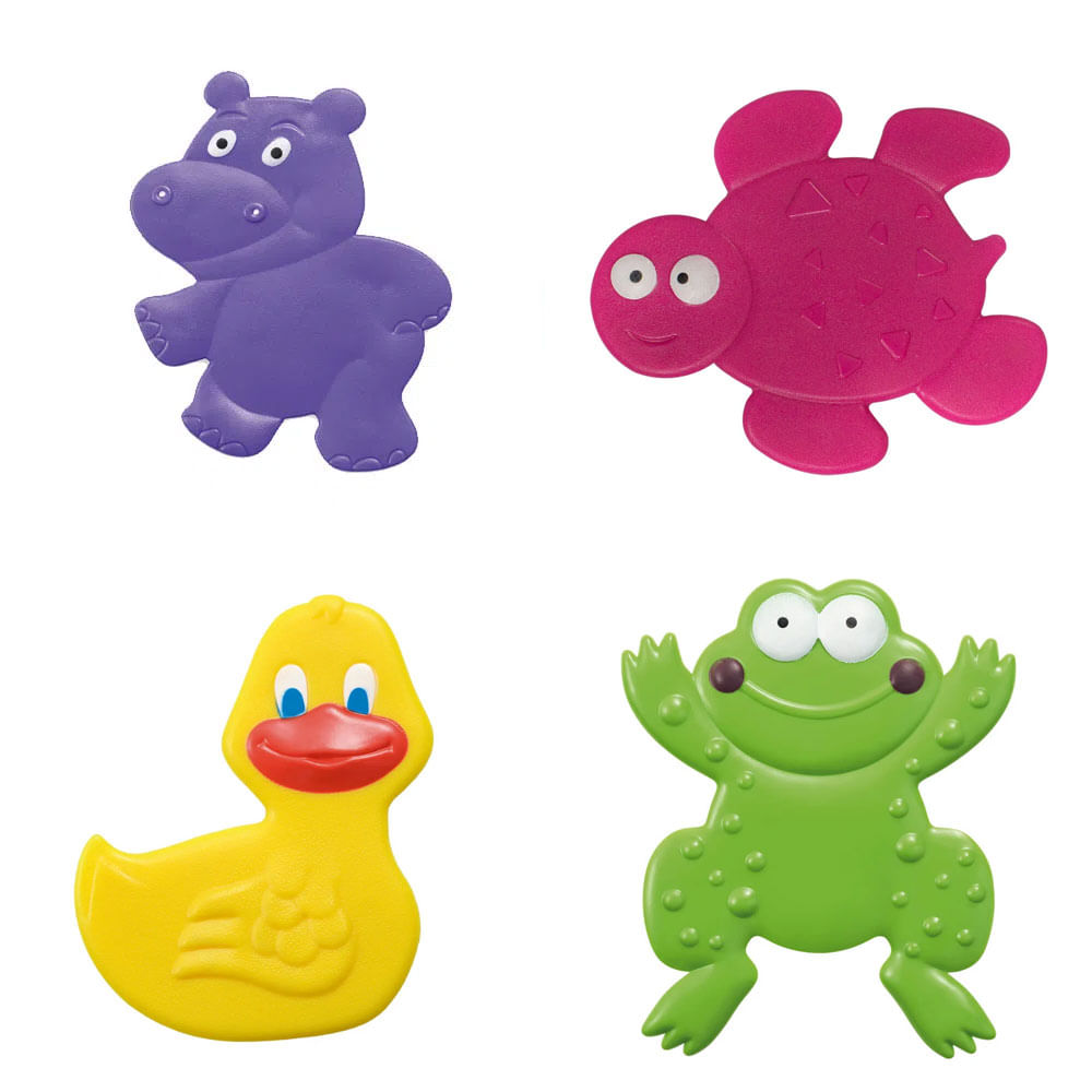 Mini Tapetes para Banho - Bath & Fun - Multikids Baby