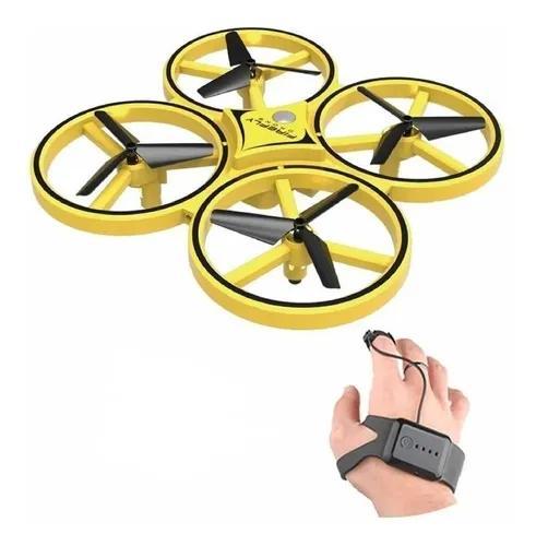 Drone Mini Indução Infravermelho Com Controle Por Gesto Mão