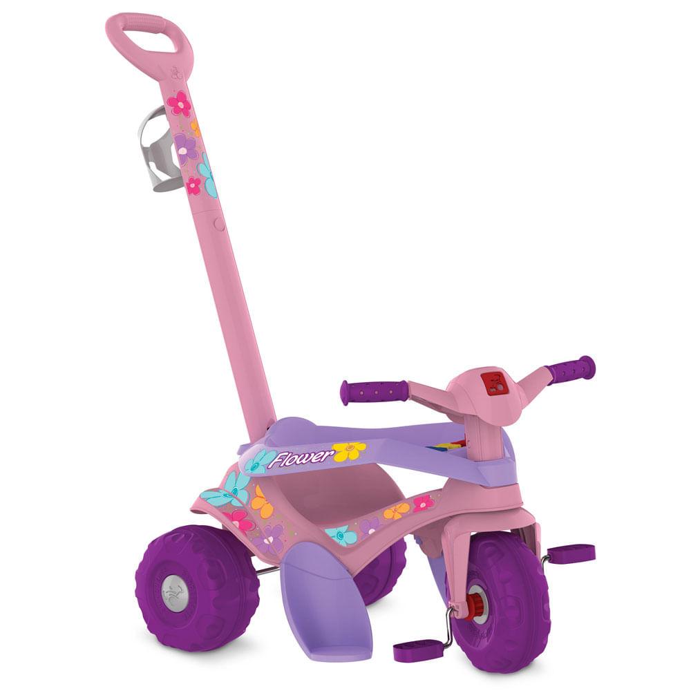 Triciclo de Passeio - Motoka - Flower - Bandeirante