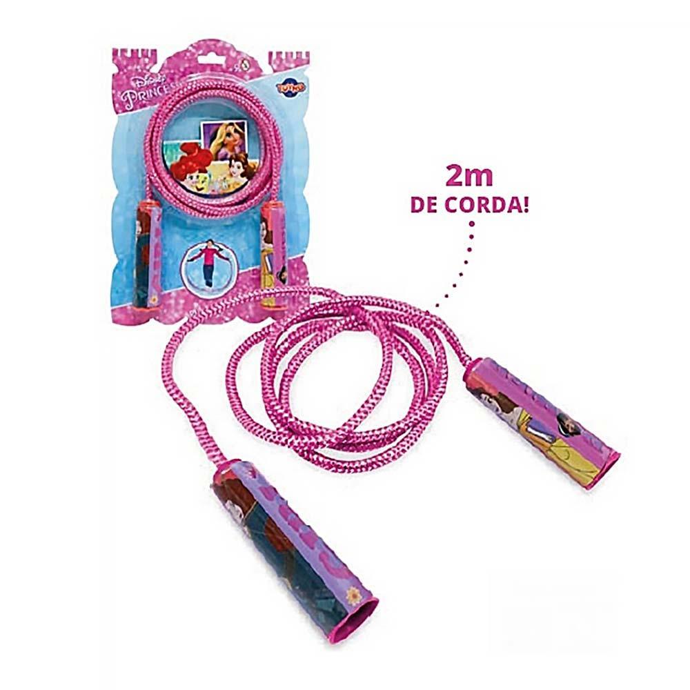 Corda de Pular Infantil - Pula Corda - Princesas Disney - Toyng