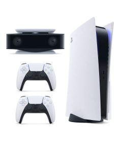 Kit-de-Console-PS5-com-Controle-DualSense-e-Camera-HD---Sony