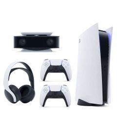 Kit-de-Console-PS5-com-Controle-DualSense---Headset-Pulse-3D-e-Camera-HD---Sony