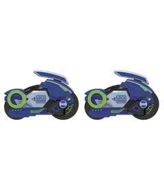 Kit-de-Lancadores-e-Mini-Veiculos---Fly-Wheels---Azul---Candide