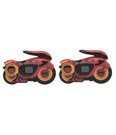 Kit-de-Lancadores-e-Mini-Veiculos---Fly-Wheels---Vermelho---Candide