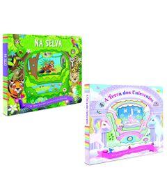 Kit-de-Livros---A-Terra-dos-Unicornios-e-Um-Passeio-Emocionante-na-Selva---DCL-Editora