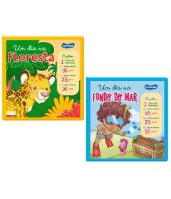 Kit-de-Livros-Brinquedos---Um-dia-No-Fundo-do-Mar-e-Um-dia-na-Floresta---Toyster
