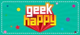 Card - Geek Happy - act