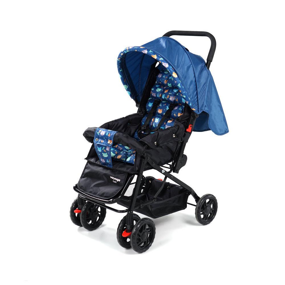 Carrinho de Bebê Luck Voyage - Azul Boreal
