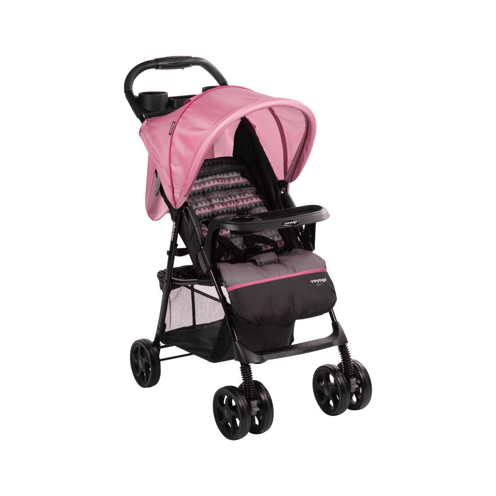 Carrinho de Bebê Spot  Voyage - Rosa Geo