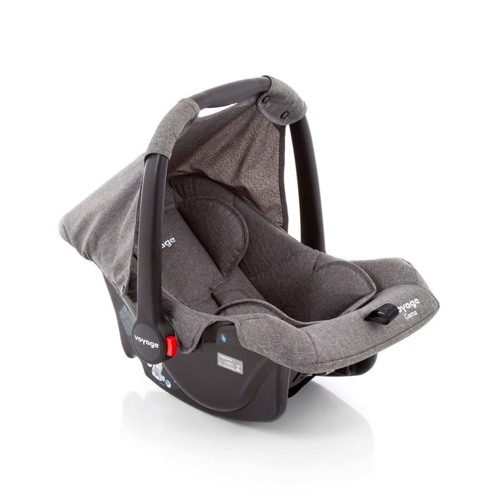 Bebê Conforto Gama  Voyage - Cinza Mescla