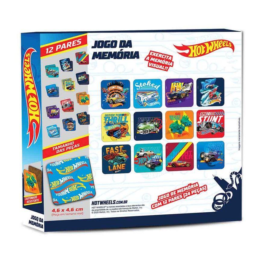 Jogo-da-Memoria---Hot-Wheels---24-Pecas---Fun-2